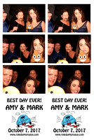 Amy & Mark Ramlow Photo Booth photos